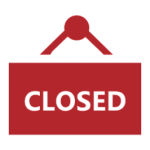Closed sign image