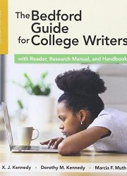 The Bedford guide for college writers : with reader, research material, and handbook