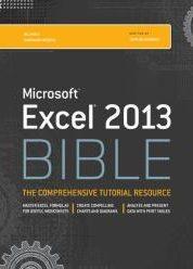 Excel 2013 Bible