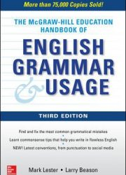 The McGraw-Hill Education handbook of English grammar and usage