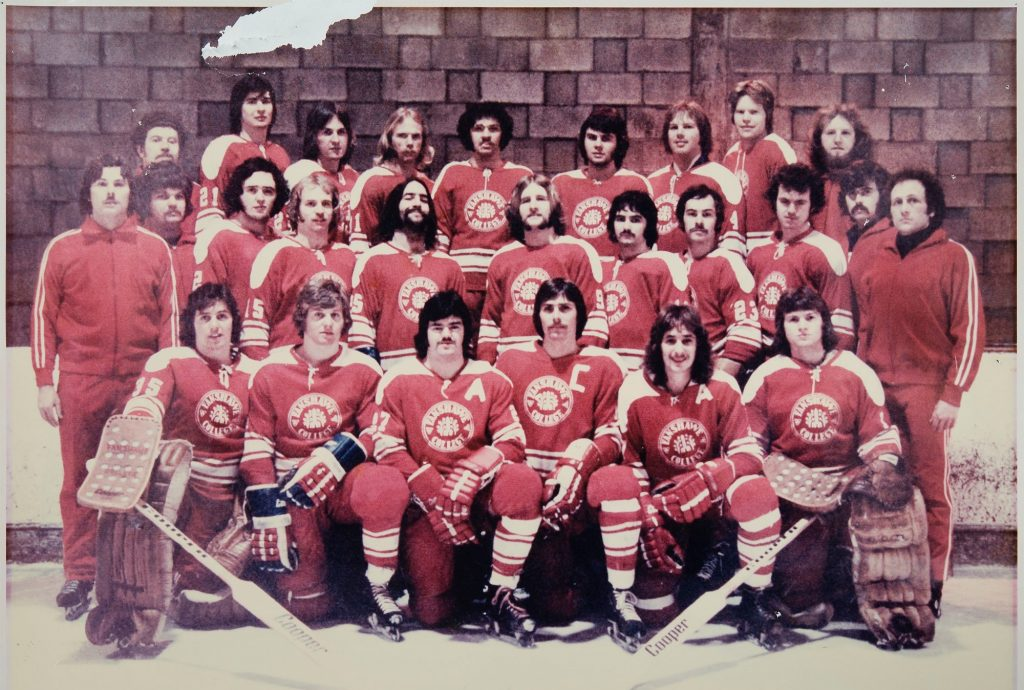 Fanshawe men's ice hockey team 1973 1974