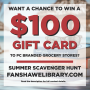 Complete our online summer scavenger hunt for a chance to win $100 gift card to PC Brand stores! Contact library@fansahwec.ca if you have any questions.