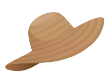Participate in our Online Summer Scavenger Hunt for a chance to win $100 gift card! Visit Library News for more information. This image is a Hat.