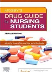eBook - Mosby's Drug Guide for Nursing Students
